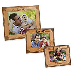 """""""We Are So Lucky to Call You Daddy"""" Picture Frame"""