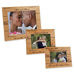 Mr. and Mrs. Collection Picture Frame