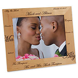 Mr. and Mrs. Collection 8-Inch x 10-Inch Picture Frame