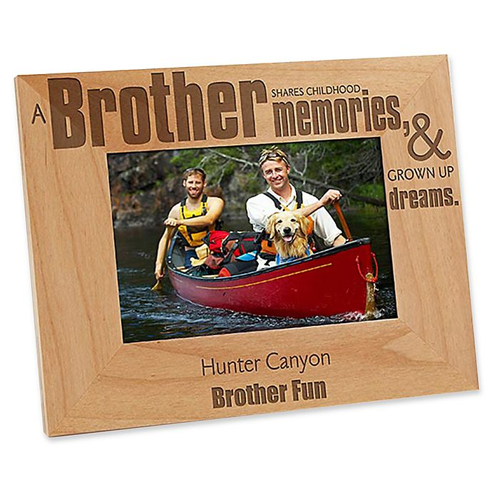 Alternate image 1 for Special Brother 4-Inch x 6-Inch Picture Frame