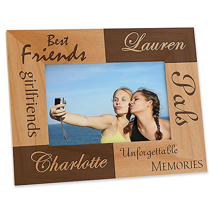 Alternate image 1 for Best Friends 4-Inch x 6-Inch Picture Frame