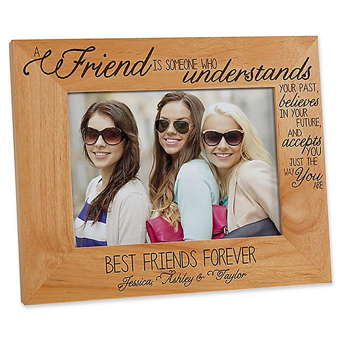 Alternate image 1 for Forever Friends 5-Inch x 7-Inch Picture Frame