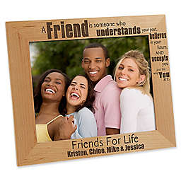 Forever Friends 8-Inch x 10-Inch Picture Frame