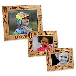 Alphabet Name Picture Frame