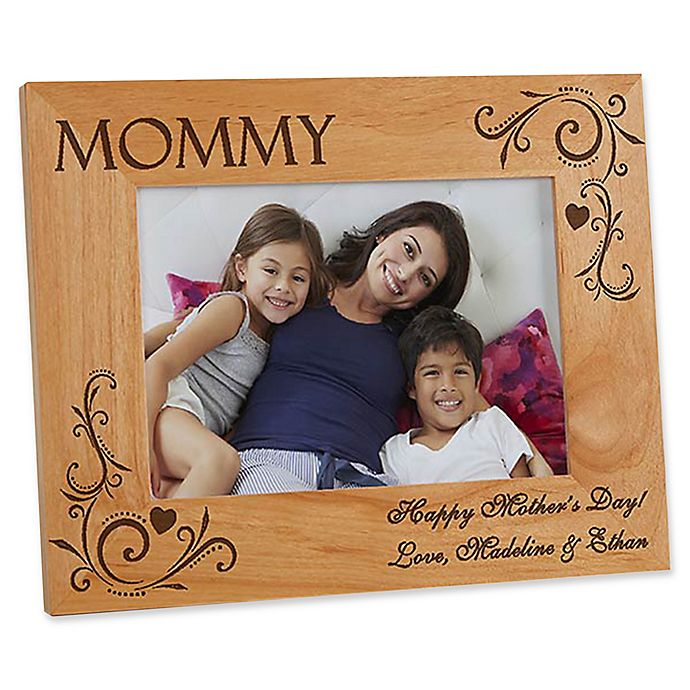 Alternate image 1 for Loving Hearts 5-Inch x 7-Inch Picture Frame