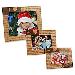 Our Loving Hearts Holiday Picture Frame