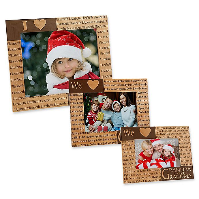 Alternate image 1 for Our Loving Hearts Holiday Picture Frame