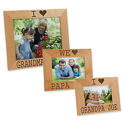 I/We Love Him Picture Frame