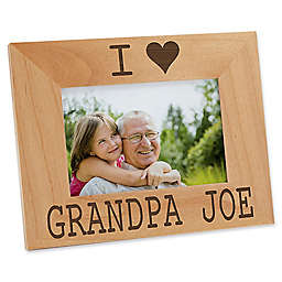 I/We Love Him 4-Inch x 6-Inch Picture Frame