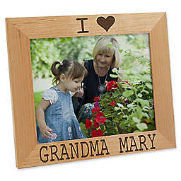 I/We Love Him 8-Inch x 10-Inch Picture Frame
