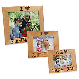 I/We Love Her Personalized Picture Frame