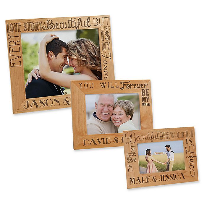 Alternate image 1 for Love Quotes Picture Frame