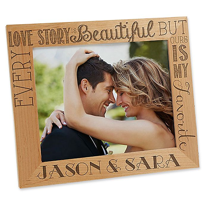 Alternate image 1 for Love Quotes 8-Inch x 10-Inch Picture Frame