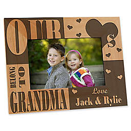 I/We Love Her 4-Inch x 6-Inch Picture Frame