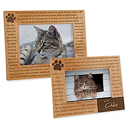 Paw Prints On Our Heart Picture Frame