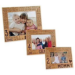 Reasons Why for Her Picture Frame
