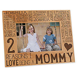 Reasons Why for Her 4-Inch x 6-Inch Picture Frame