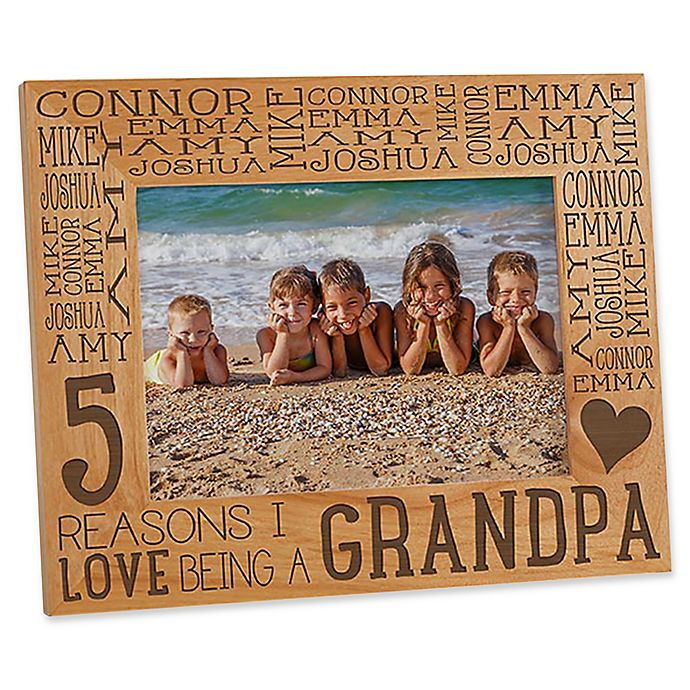 Alternate image 1 for Reasons Why for Her 5-Inch x 7-Inch Picture Frame