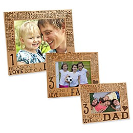Reasons Why for Him Picture Frame