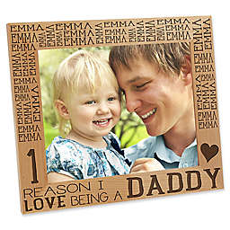 Reasons Why for Daddy 8-Inch x 10-Inch Picture Frame