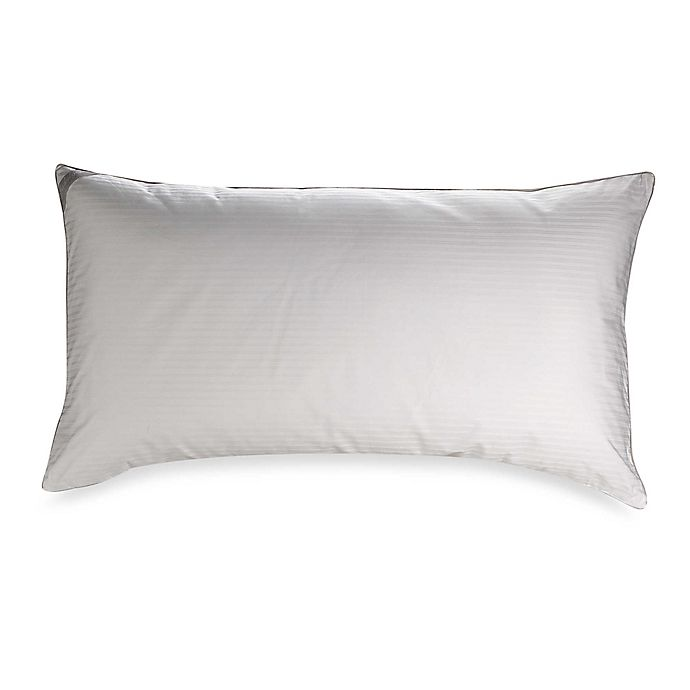 Alternate image 1 for Indulgence® by Isotonic® Down Alternative King Back/Stomach Sleeper Pillow