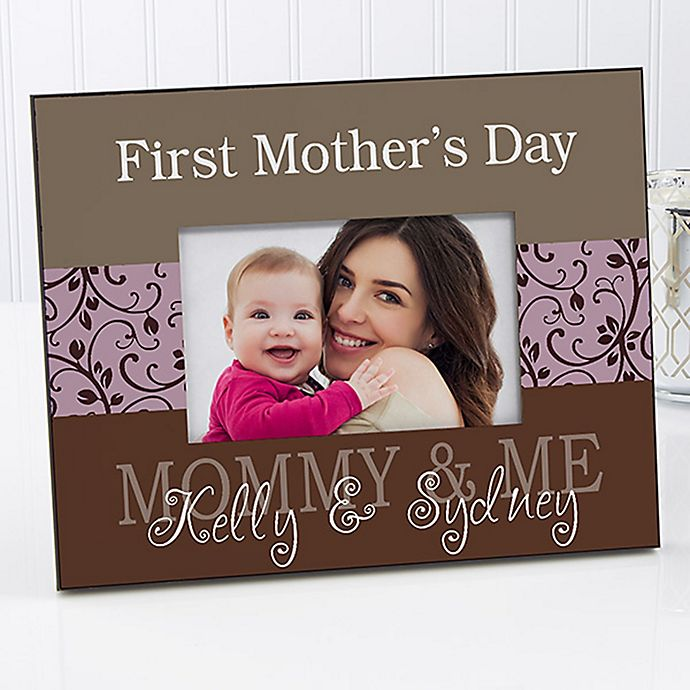 Alternate image 1 for Mommy & Me 4-Inch x 6-Inch Picture Frame