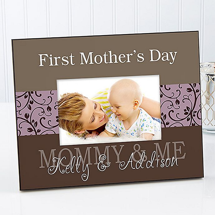 Alternate image 1 for Mommy & Me 8-Inch x 10-Inch Large Picture Frame