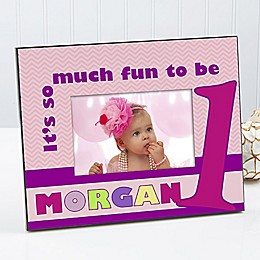 First Birthday 4-Inch x 6-Inch Picture Frame