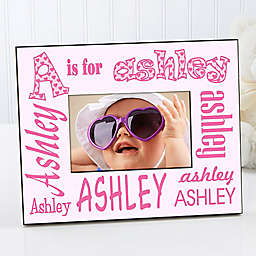 It's Me! Alphabet Name 4-Inch x 6-Inch Picture Frame