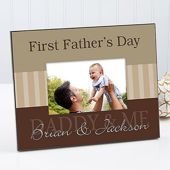 Alternate image 1 for Daddy & Me Large Picture Frame