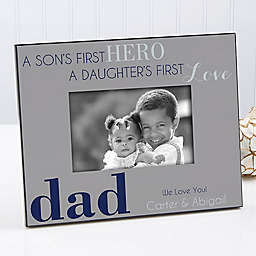 First Hero/First Love 4-Inch x 6-Inch Picture Frame