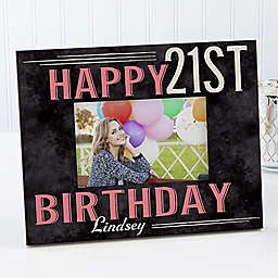 Vintage Birthday 4-Inch x 6-Inch Picture Frame