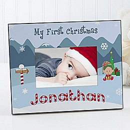 My 1st Christmas 4-Inch x 6-Inch Picture Frame