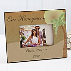 Honeymoon 4-Inch x 6-Inch Picture Frame