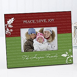 Family is Forever 4-Inch x 6-Inch Picture Frame