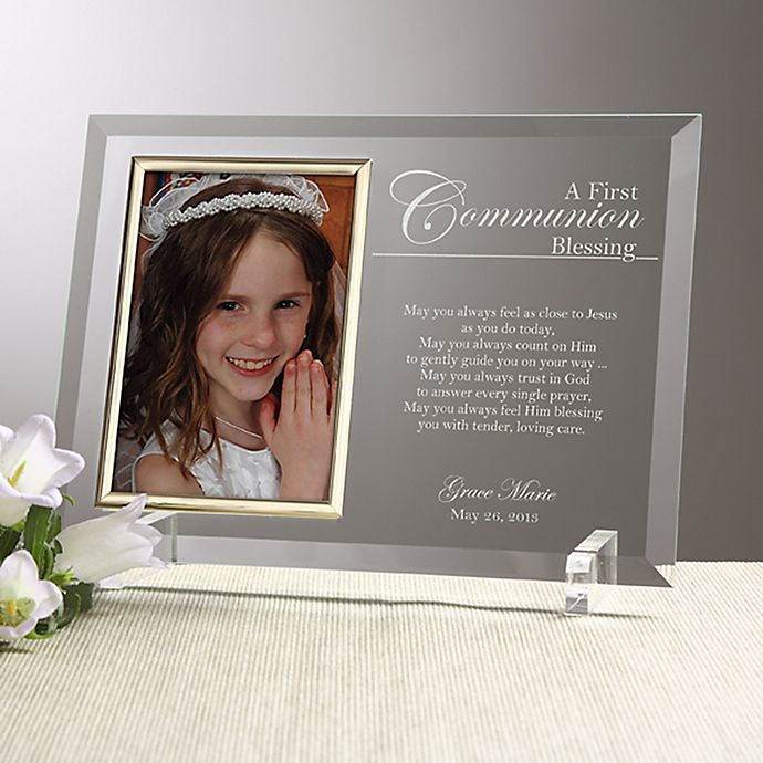 Alternate image 1 for A Communion Blessing Picture Frame