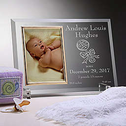 Birth Announcement Picture Frame