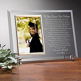 Graduation Poem Reflections Picture Frame
