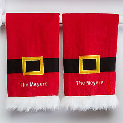 Santa Kitchen Towel Set (Set of 2)