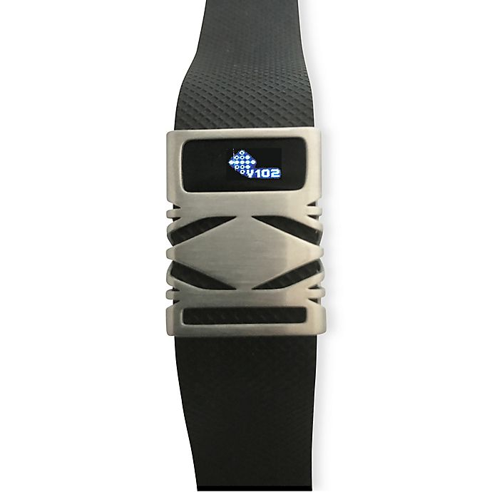 Alternate image 1 for funktional wearables Fitbit® Charge & Charge HR GEO Cover in Brushed Silver