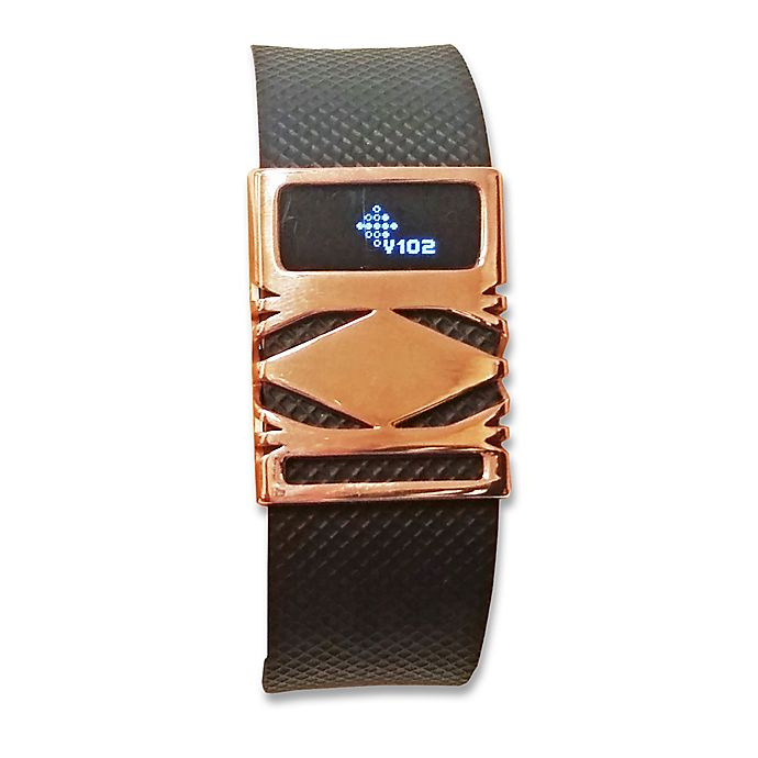 Alternate image 1 for funktional wearables Fitbit® Charge & Charge HR GEO Cover in Rose Gold