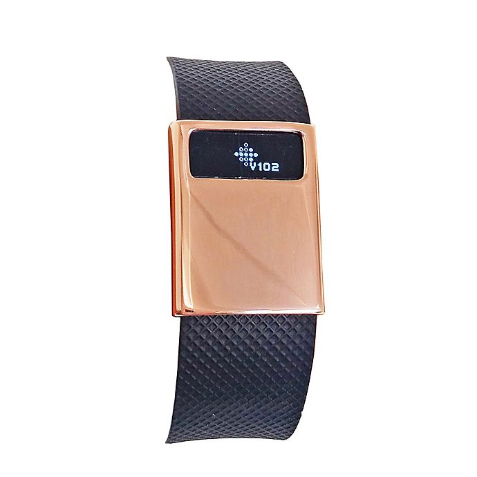 Alternate image 1 for funktional wearables Fitbit® Charge & Charge HR BASIC Cover in Rose Gold