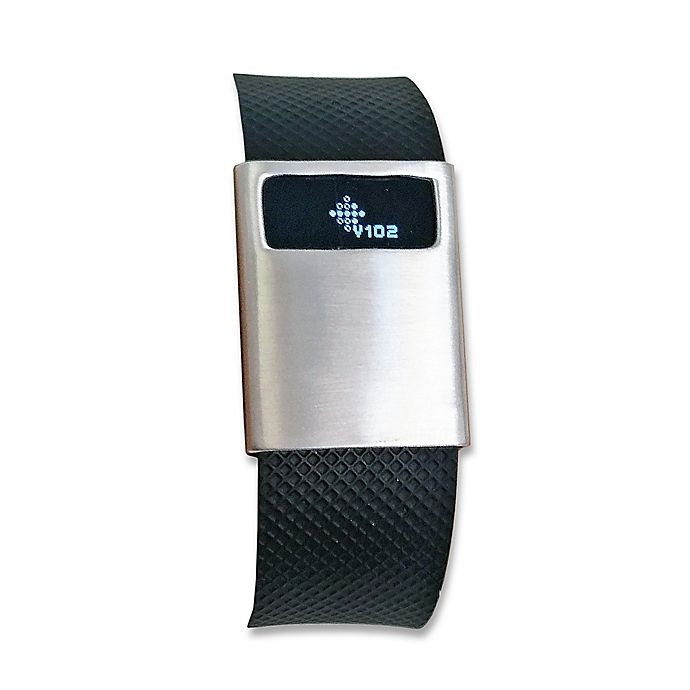 Alternate image 1 for funktional wearables Fitbit® Charge & Charge HR BASIC Cover in Brushed Silver
