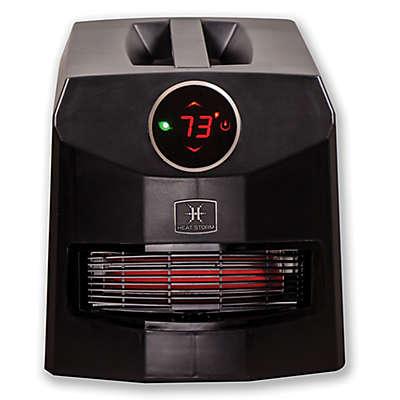 Heat Storm Mojave Ultra Infrared Quartz Portable Heater in Black