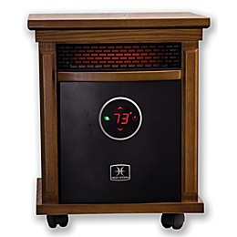 Heat Storm Smithfield Deluxe Infrared Quartz Portable Heater in Oak