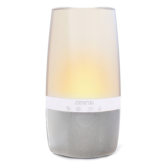 Zenergy Aroma Bluetooth Therapy Speaker With Lighting Bed Bath