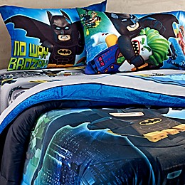 "LEGO® Batman Movie ""No Way Brozay"" Twin/Full Comforter"