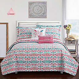 Chic Home Kane 7-Piece Reversible Quilt Set