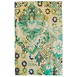 Feizy Ashlyn Fusion Area Rug in Lime