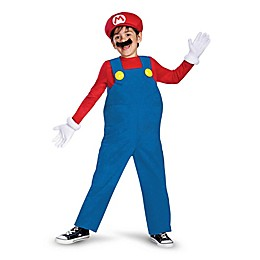 Super Mario Bros: Mario Deluxe Child's Halloween Costume